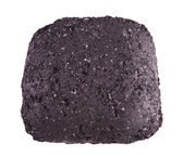 Coal briquette for BBQ — Stock Photo