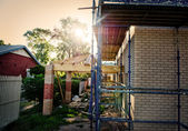 Home reconstruction — Stock Photo