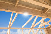 New home construction — Stockfoto