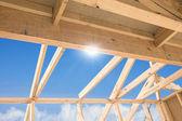 Nuova costruzione casa — Foto Stock