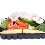 Fresh stir fry vegetables — Stock Photo