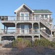 Strandhaus in North carolina — Lizenzfreies Foto