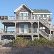 north Carolina Beach house — Stok fotoğraf