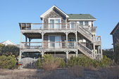 Beach house in North Carolina — Stock Photo