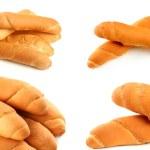 Постер, плакат: Freshly baked croissants