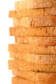 Slices of the cut bread — Stock Photo