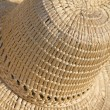 Straws hat abstract — Stock Photo