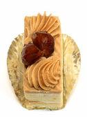 Kaštanový dort — Stock fotografie