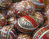 Romanian Easter eggs — Stock Photo