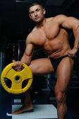 Hombres y deporte — Foto de Stock
