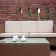 Stock Photo: Outdoor furniture