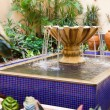 Stock Photo: Courtyard Fountain