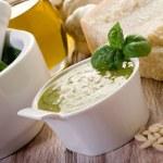 Pesto ingredients — Stock Photo