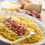 Spaghetti carbonara — Stock Photo #6393437