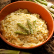 Royalty-Free Stock Photo: Risotto with asparagus