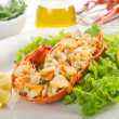 Lobster with salad - aragosta e insalata — Stock Photo #6397279
