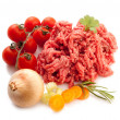 Stock Photo: Grinded meat
