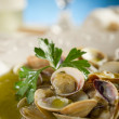 Clam soup — Stock Photo #6404172