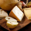 Pears and cheese - Stockfoto