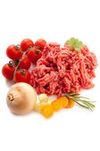 Grinded meat — Stock Photo