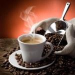 Hot coffee — Stock Photo #6420313