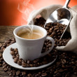 Hot coffee — Foto de stock #6420582