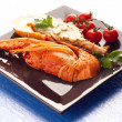 Boiled lobster — Stock Photo