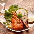 Boiled lobster — Stock Photo #6425106