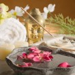 Aromatherapy and spa concept — Stock Photo