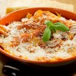 Italian lasagne with ragout — Stock Photo #6429602