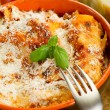 Italian lasagne with ragout — Stock Photo #6429625