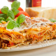 Italian lasagne with ragout — Stock Photo #6438049