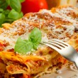 Italian lasagne with ragout — Stock Photo #6438092