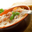 Italian lasagne with ragout — Stock Photo #6438104