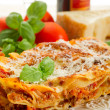 Italian lasagne with ragout — Stock Photo #6438523