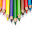 Pencil on white — Stock Photo