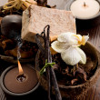 Stock Photo: Scented potpourri aromatherapy