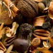 Stock Photo: Scented potpourri aromatherapy and spa concept