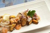 Zeevruchten salade — Stockfoto