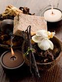 Scented potpourri aromatherapy — Stock Photo