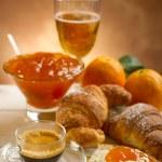 Continental breakfast — Stock Photo