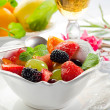 Stock Photo: Fruits salad