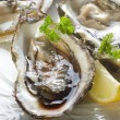 Stock Photo: Fresh french oyster