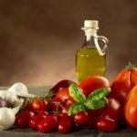 Ingredients for italian tomato pasta sauce — Stock Photo #6491431