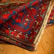 Variety of ancient oriental carpets — Stock Photo #6498534