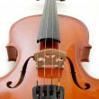 Violin in white background — Stock Photo #6499660
