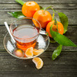 Tangerine tea — Stock Photo #6499958