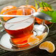 Tangerine tea — Stock Photo #6499989