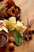 Concepto de aromaterapia y spa — Foto de Stock