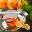 Tangerine tea — Stock Photo #6500048